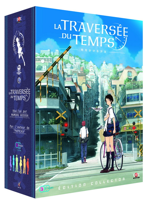 DVD Traversée Du Temps (la) - Limité - Anime Dvd - Manga news