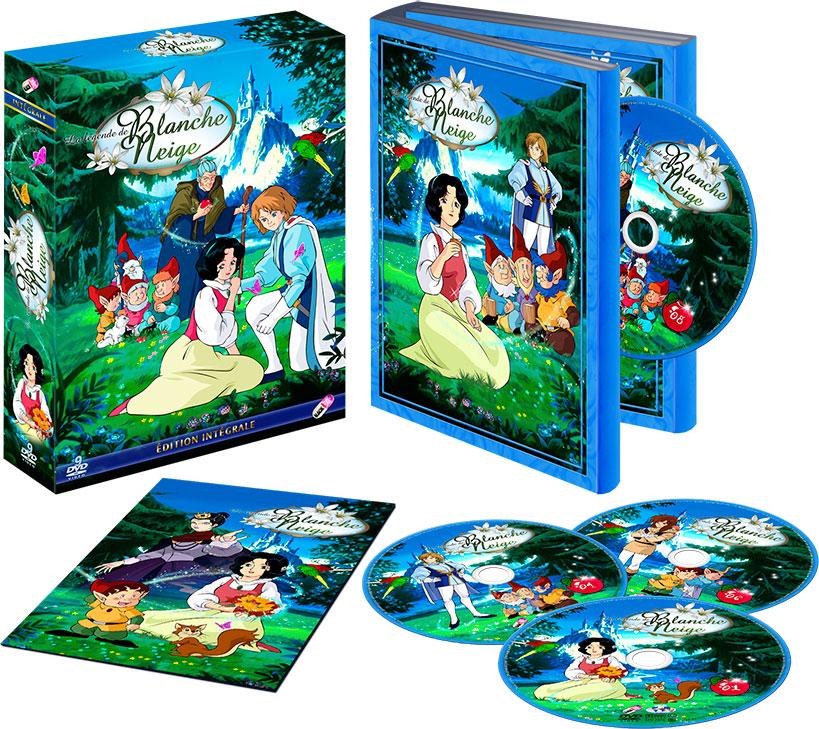Dvd l gende de blanche neige la int grale anime dvd for Blanche neige miroir miroir streaming