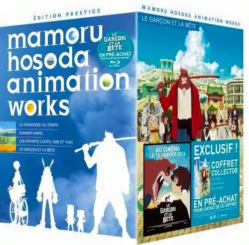 Blu-Ray Mamoru Hosoda Animation Works - Coffret Collector 4