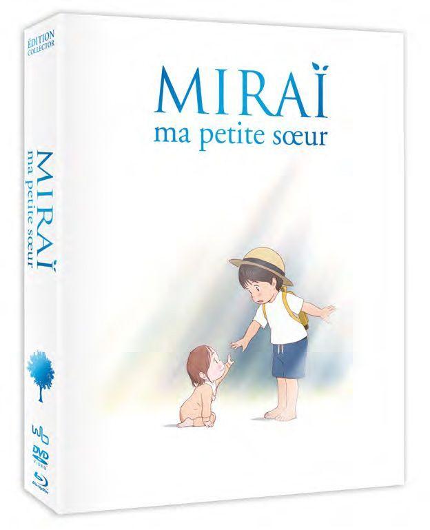 Mirai, ma petite sœur - Edition Collector Fnac - Combo Blu-ray DVD
