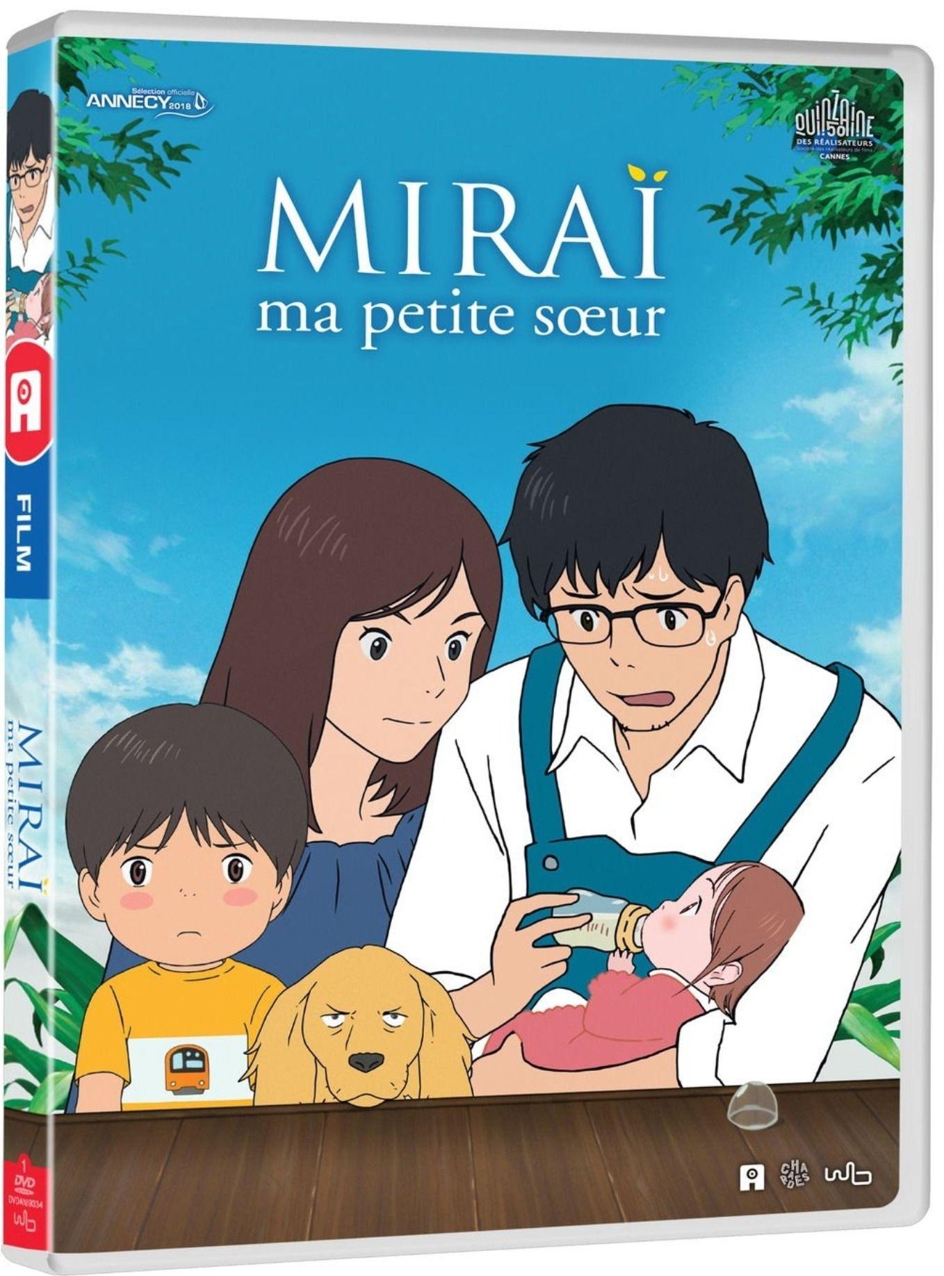 Miraï, ma petite soeur - Edition DVD