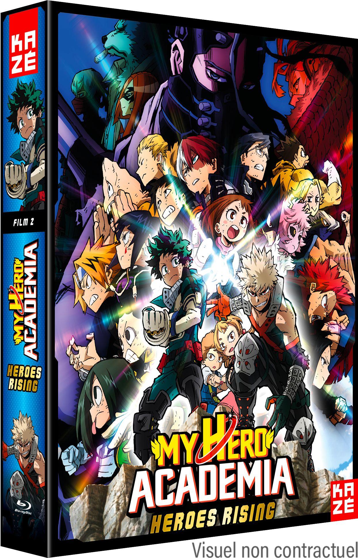 My Hero Academia - Film 2 - Heroes Rising - Blu-Ray+ DVD