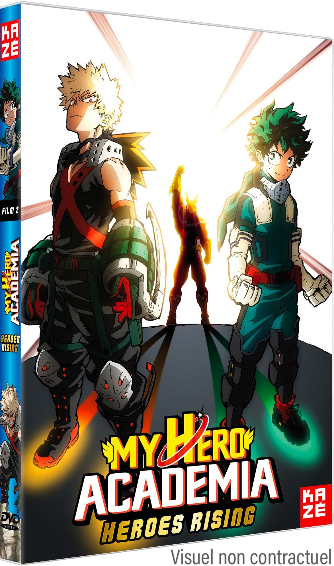 My Hero Academia - Film 2 - Heroes Rising - DVD