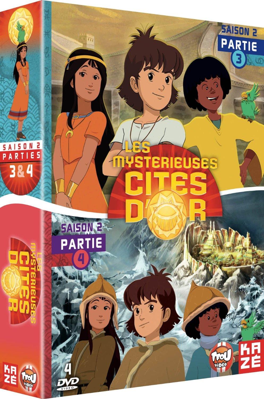 Les mystérieuses cités d'or, saison 2 © Blue Spirit Productions / RTBF / Be-Films / Sinematik / 2012- 2013