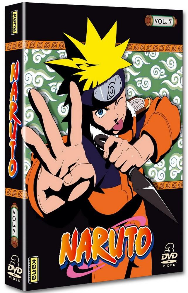 Naruto - Coffret Vol.7