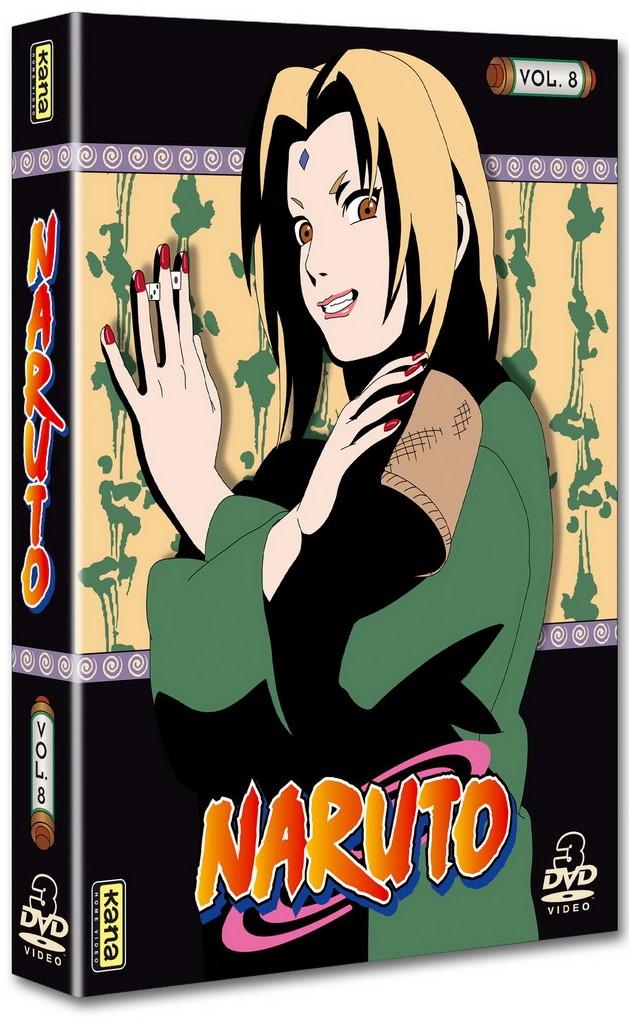 Naruto - Coffret Vol.8