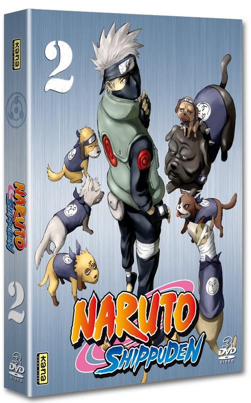 NARUTO SHIPPUDEN en DVD