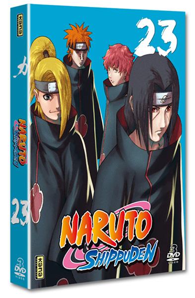 Naruto Shippuden - Coffret Vol.23