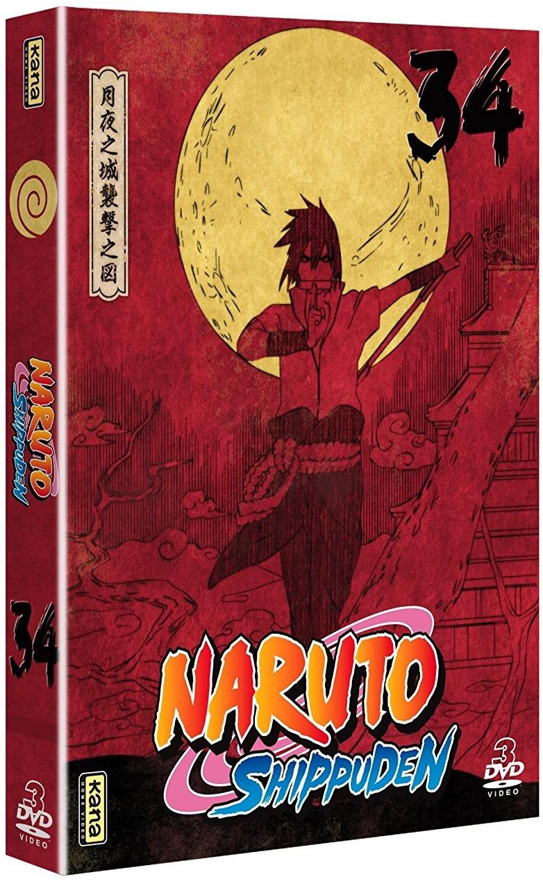 Naruto Shippuden - Coffret Vol.34