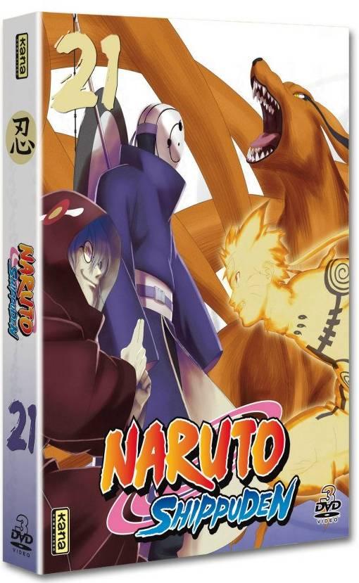 Naruto Shippuden - Coffret Vol.21