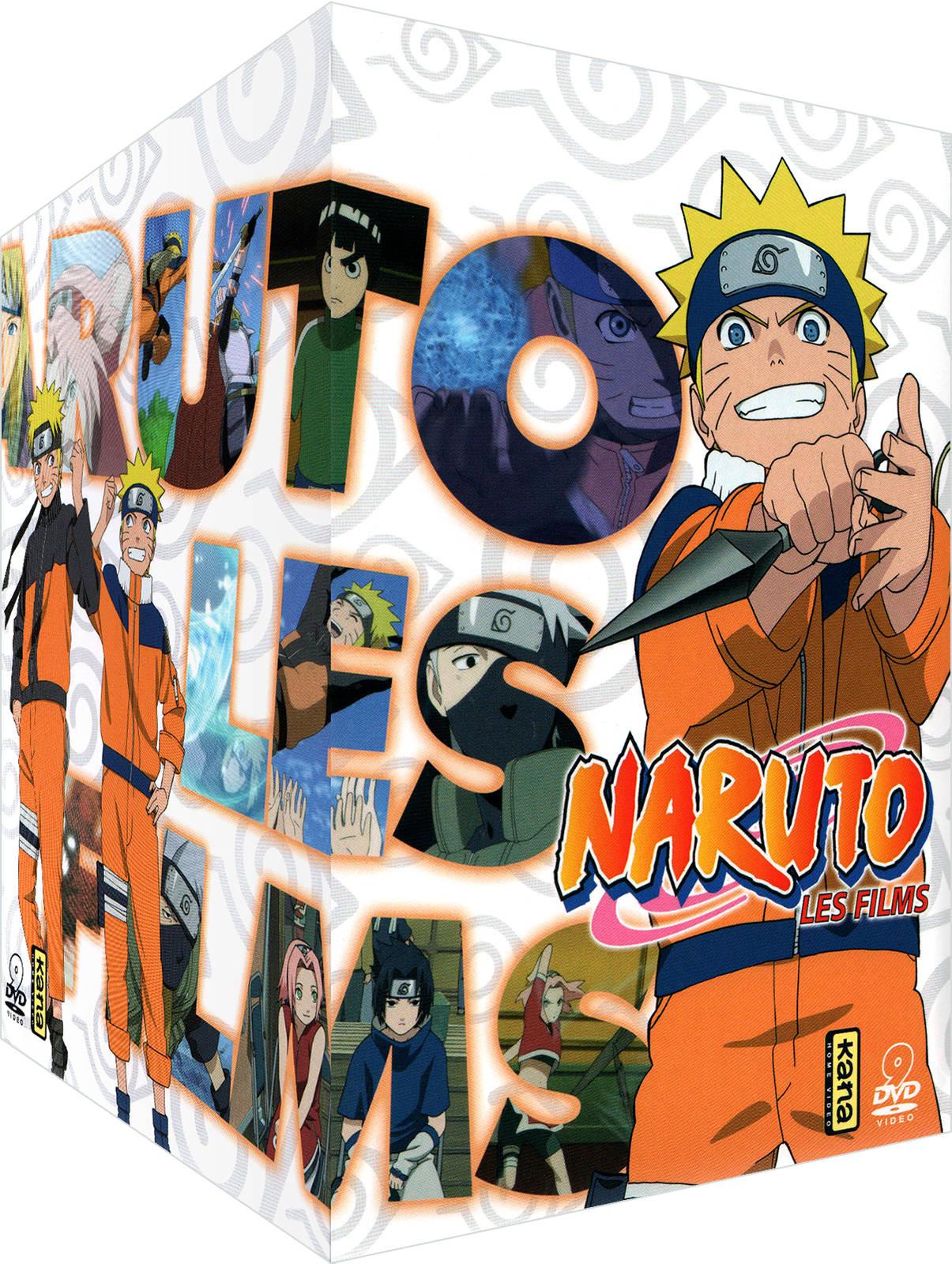 DVD Naruto & Naruto Shippuden