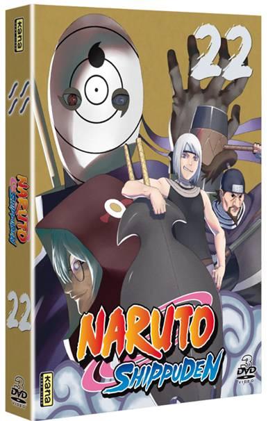 Naruto Shippuden - Coffret Vol.22