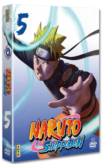 Naruto Shippuden - Coffret Vol.5
