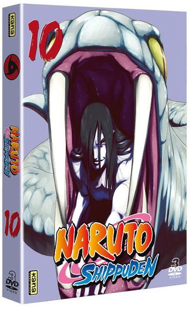 Naruto Shippuden - Coffret Vol.10