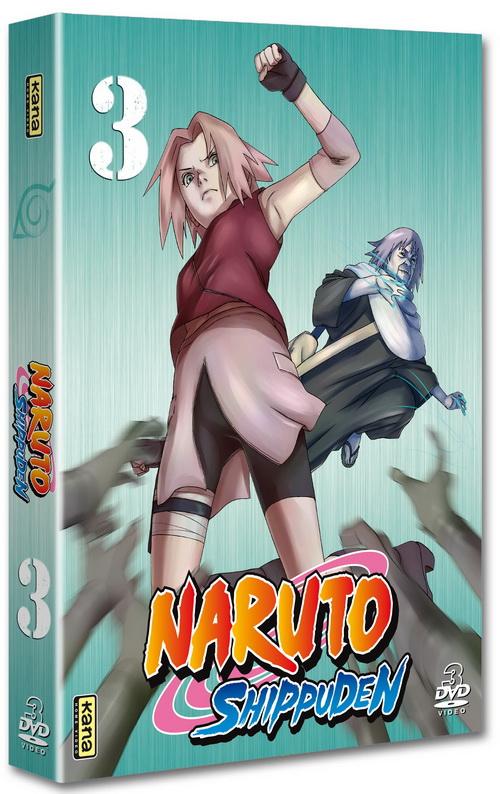 Naruto Shippuden - Coffret Vol.3