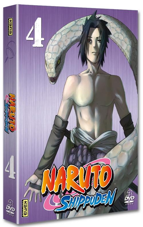 Naruto Shippuden - Coffret Vol.4