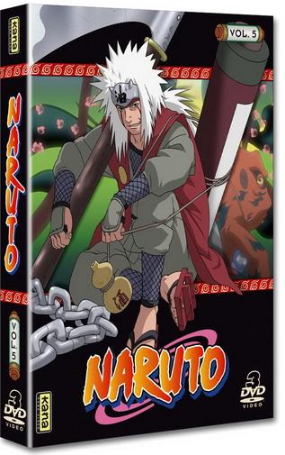 Naruto - Coffret Vol.5