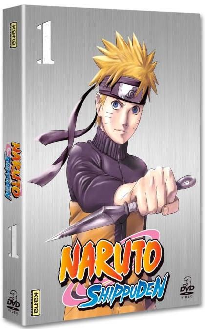 Naruto Shippuden - Coffret Vol.1