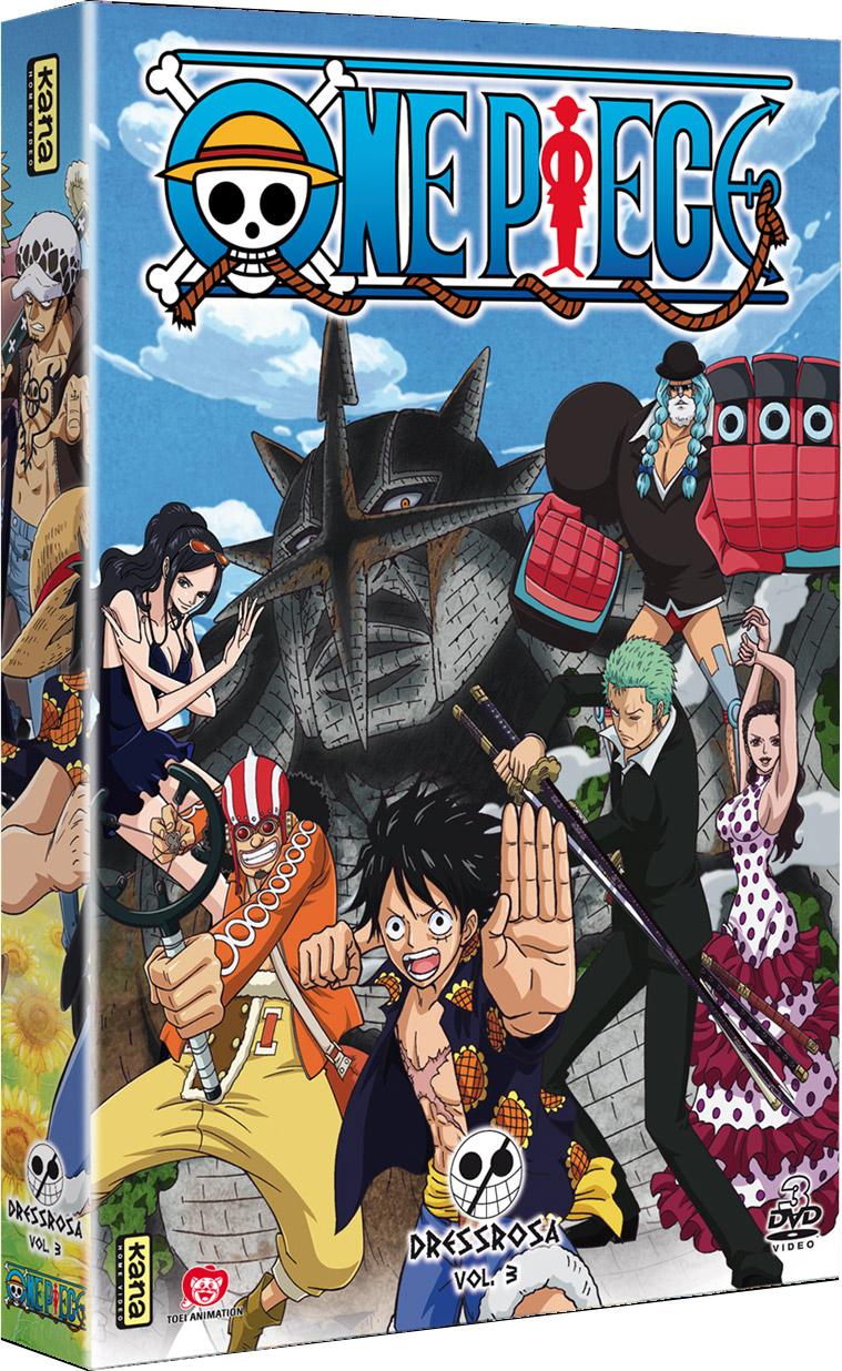 One Piece - Dressrosa Vol.3