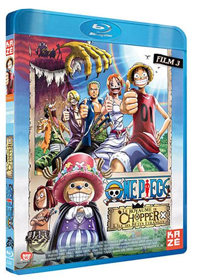 One Piece - Film 3 - Le royaume de Chopper, l'île des bêtes étranges - Blu-Ray