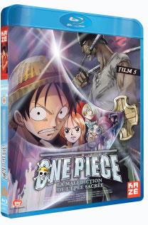One Piece - Film 5 - La malédiction de l'épée sacrée - Blu-Ray