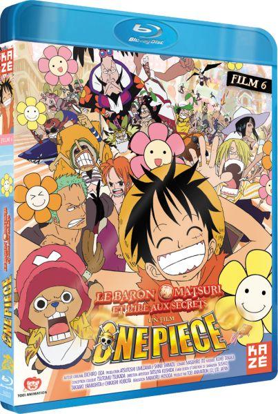 One Piece - Film 6 - Baron Omatsuri et l'île aux secrets - Blu-Ray