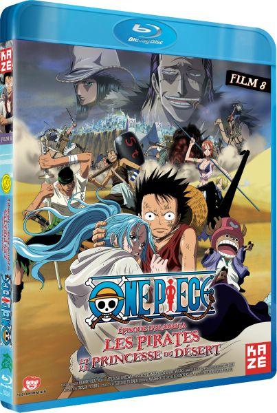 One Piece - Film 8 - Alabasta - Les Pirates et la princesse du désert - Blu-Ray