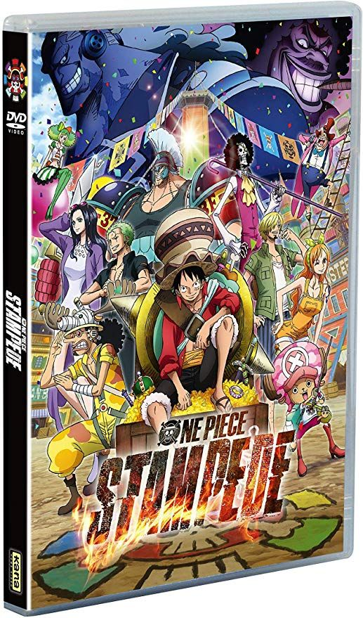 Couvertures dvd One Piece - Film 14 - Stampede - Dvd ...