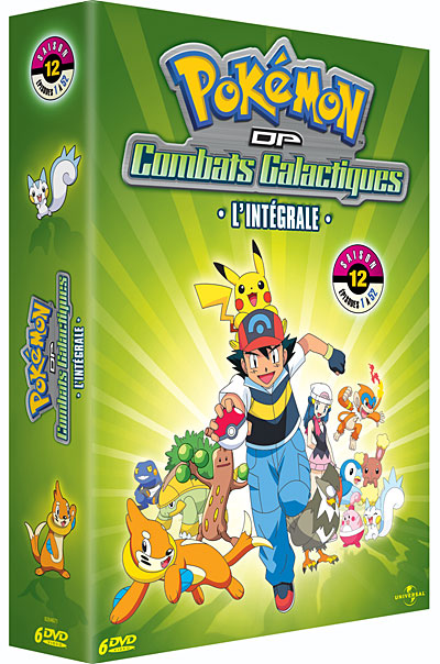 Dvd pok mon saison 12 dp combats galactiques - Pokemon saison 14 ...