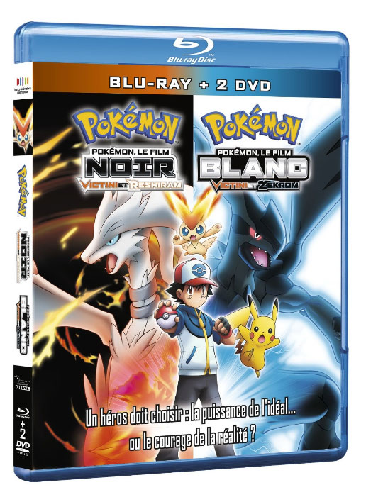 Pokémon Film - 14 - Victini et le héros blanc Reshiram et noir Zeckrom - Blu-Ray