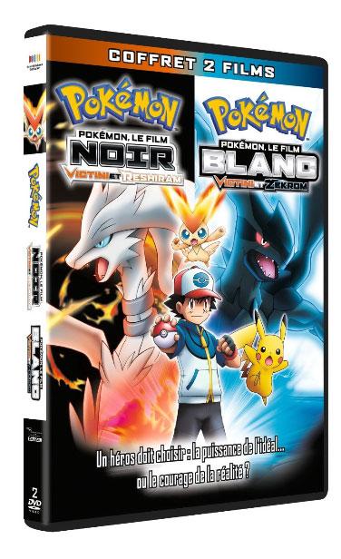 Pokémon Film - 14 - Victini et le héros blanc Reshiram et noir Zeckrom