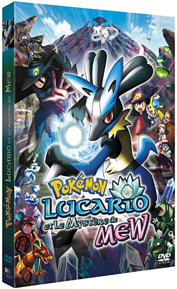 Pokémon Film - 8 -  Lucario et le Mystère de Mew