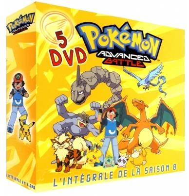 Dvd pok mon advanced battle saison 8 integrale anime - Pokemon saison 18 ...