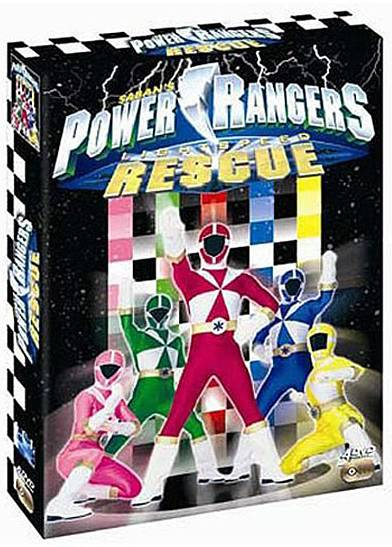 uk availability 7152d 274a3 vidéo manga - Power Rangers Sauvetage Eclair - Coffret Vol.1