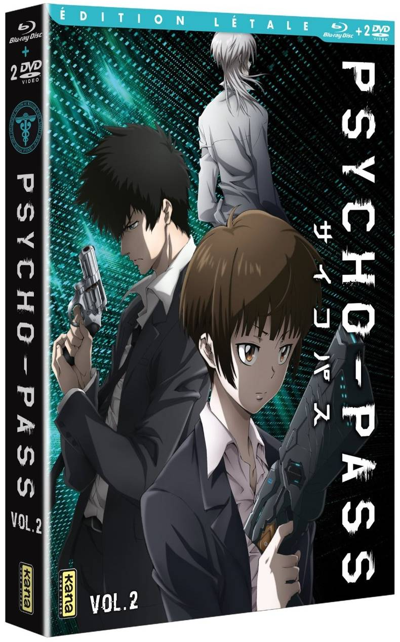 Psycho-Pass - Blu-ray Vol.2