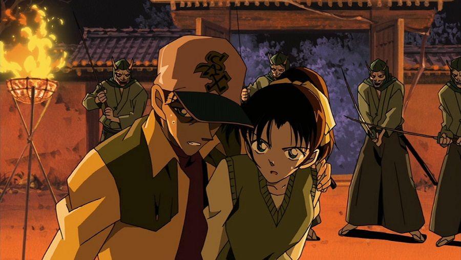 Détective Conan - Film 07 : Croisement dans l'ancienne capitale - Combo Blu-ray + DVD - Screenshot 8