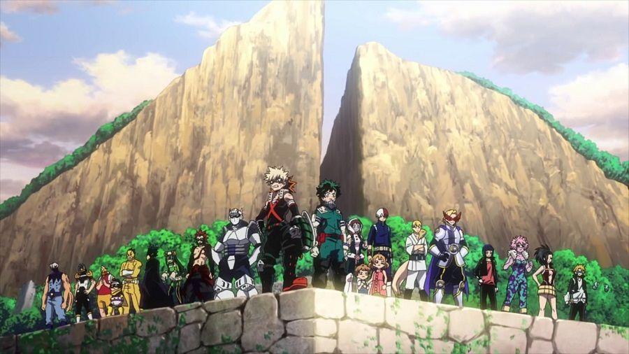 My Hero Academia - Heroes:Rising DVD - Screenshot 2