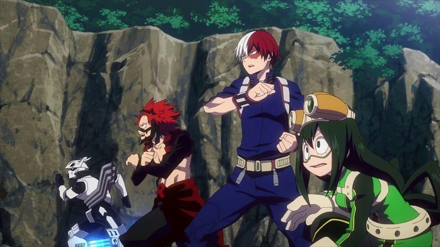 My Hero Academia - Heroes:Rising DVD - Screenshot 4