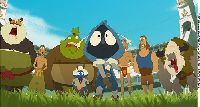 Critique de l 39 anime dofus livre 1 julith anime film for Snouffle dofus