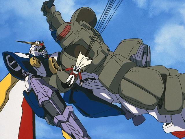 Mobile Suit Gundam Wing - Blu-Ray - Coffret Vol.1 - Screenshot 3