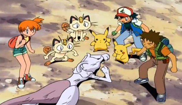 Pokémon - Film - Le Retour de Mewtwo - Screenshot 7