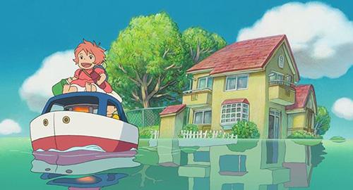 Ponyo Sur la Falaise - Blu-Ray - Screenshot 6