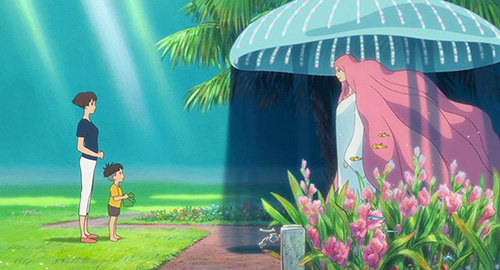 Gake no ue no Ponyo (Ponyo sur la Falaise) Ponyo-sur-la-falaise-screenshot-6