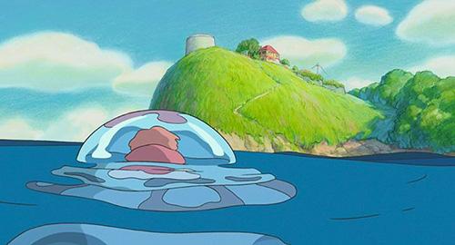 Ponyo Sur la Falaise - Blu-Ray - Screenshot 1