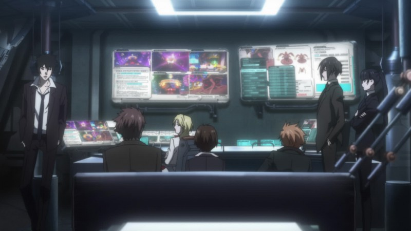Le screen de films/Animes/jeux vidéo Psycho-pass-screenshot1