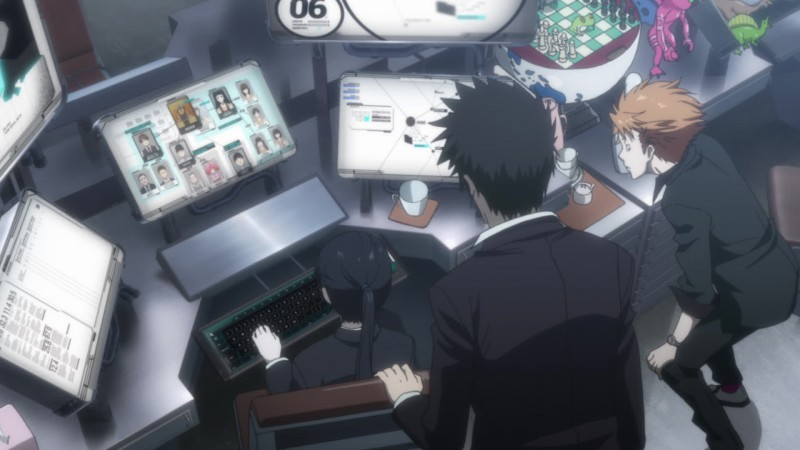 Psycho-Pass - Blu-ray Vol.1 - Screenshot 2