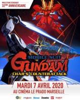 évenement - Projection - Mobile Suit Gundam : Char contre-attaque au cinéma Le Prado