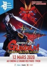 mangas - Projection - Mobile Suit Gundam : Char contre-attaque au Grand Rex