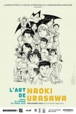 mangas - L'Art de Naoki Urasawa - Paris