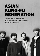 évenement - Asian Kung-Fu Generation au Backstage By The Mill